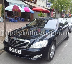 Cho thuê xe VIP Mercedes S500